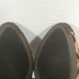 Ecco Shoes - Ecco wedge leopard pumps 37 (6/6.5)